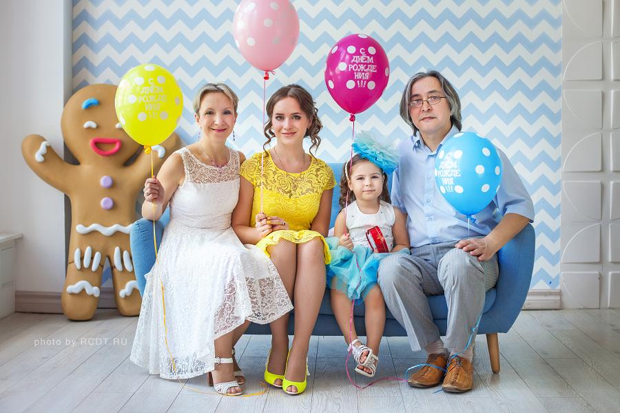 Фотосессия в москве на день рождения